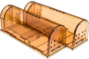CaptSure Humane Mouse Trap, 2 Pack